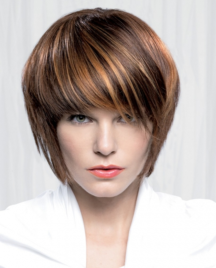 New Choppy Bob Hairstyles for Short Hair
