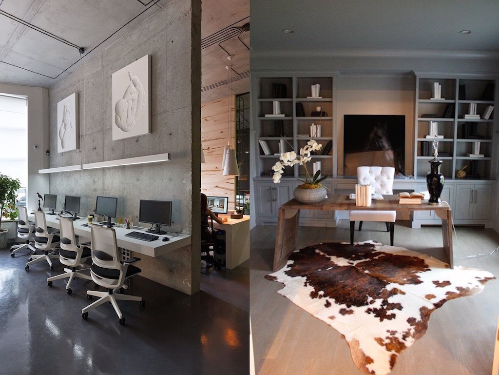 15 Inspiring Design Ideas: 15 Contemporary Home Office Design Ideas
