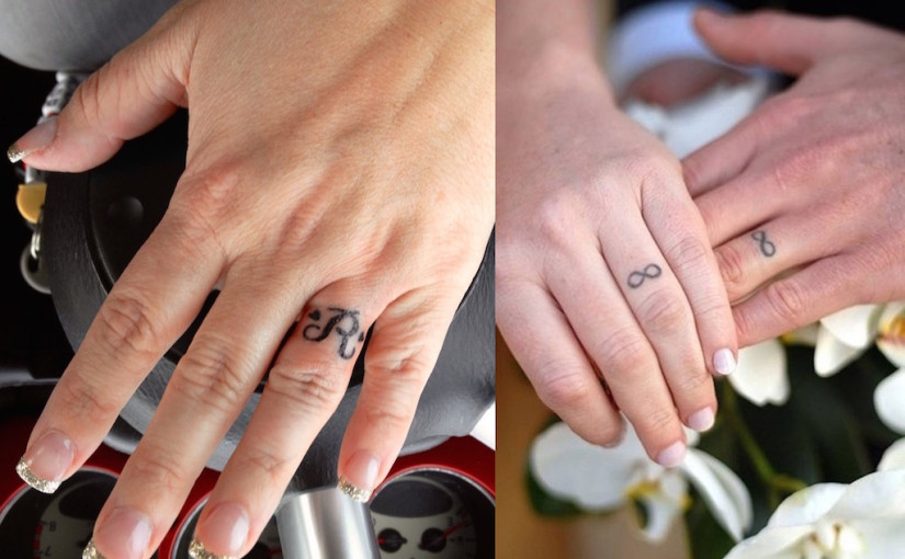 25 Awesome Wedding Ring Tattoos