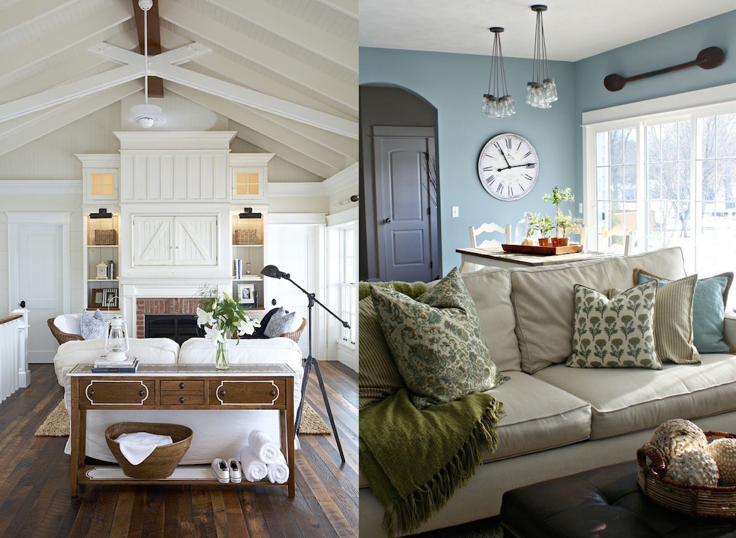 25 Comfy Farmhouse Living Room Design Ideas