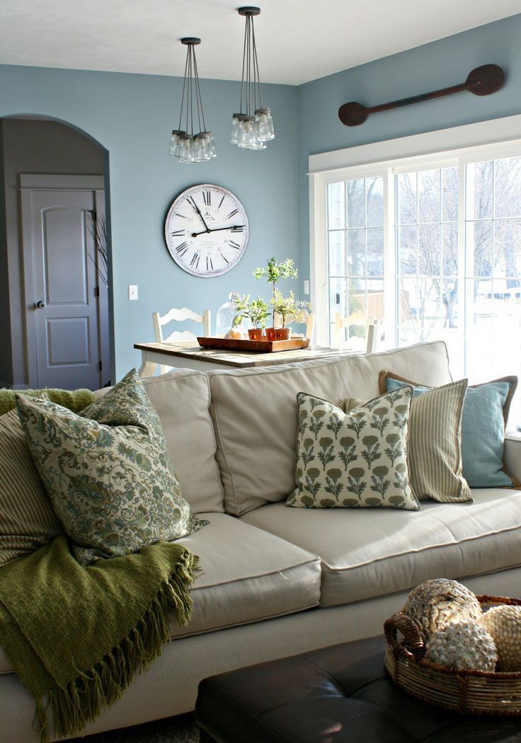 Living Room Beautiful Decor: 25 Comfy Farmhouse Living Room Design Ideas