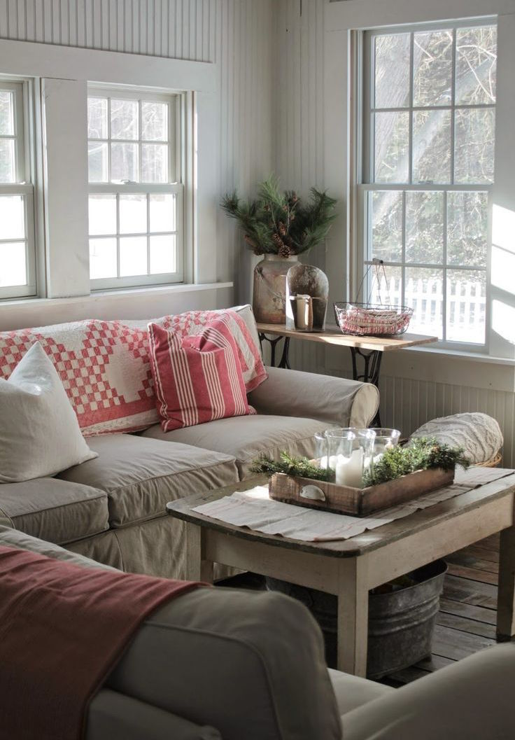 25 Comfy Farmhouse Living Room Design Ideas - Feed Inspiration