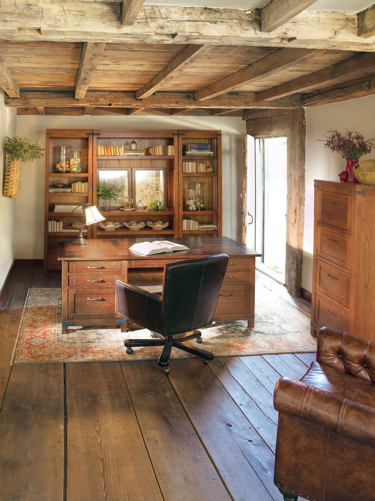 25 awesome rustic home office designs feed inspiration for Rustic house ideas