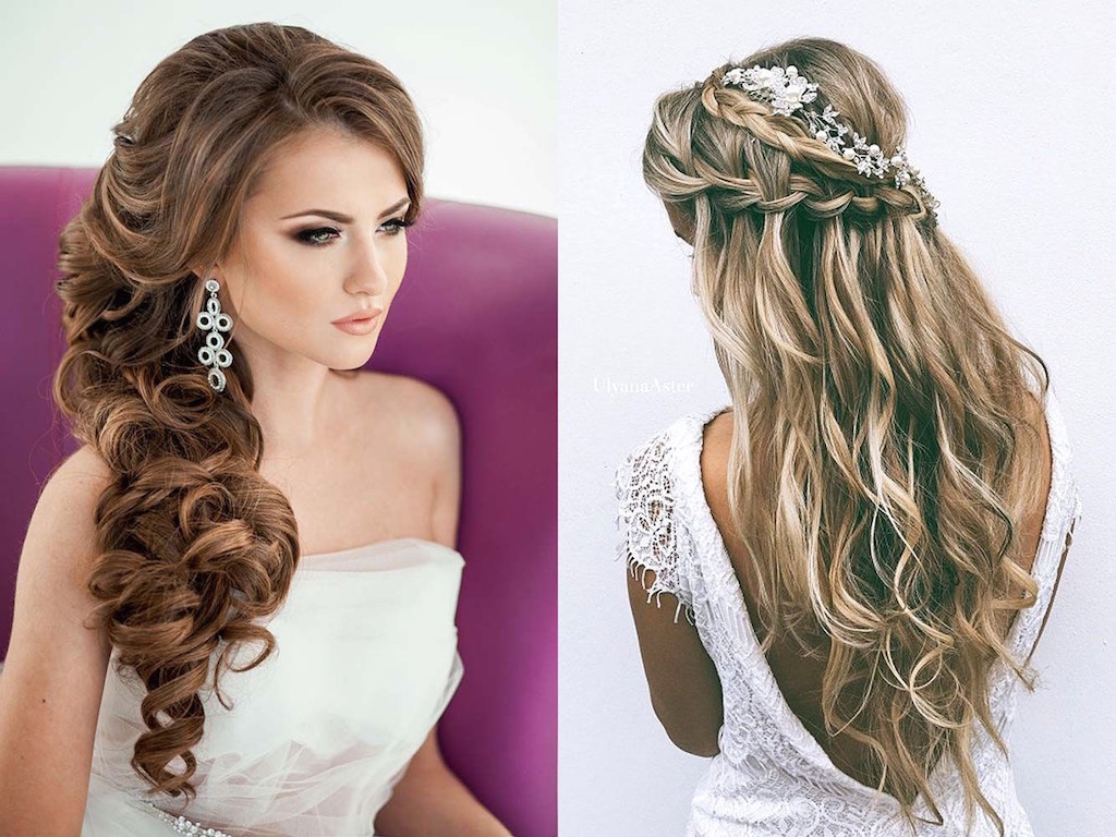 18 Creative And Unique Wedding Hairstyles For Long Hair: 21 Wedding Hairstyles For Long Hair