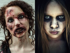 21 Zombie Makeup Ideas For Dead Look