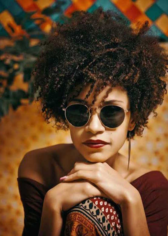 20 Afro Hairstyles For African American Woman S Feed