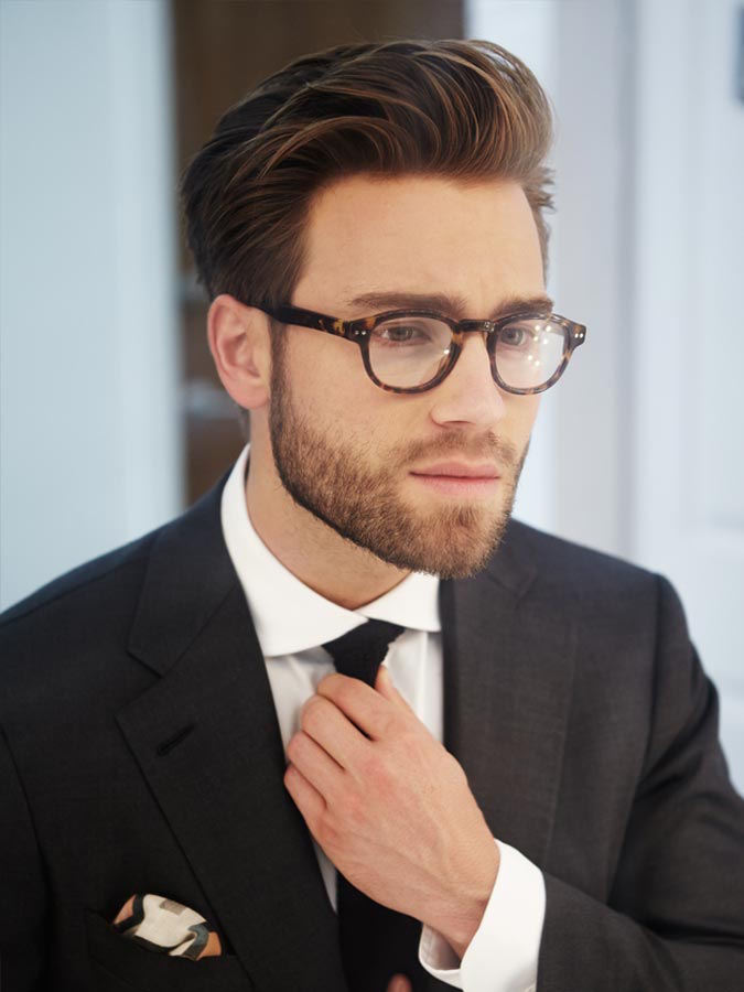 Brush up Hairstyle Glasses