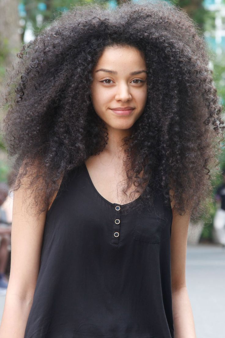 Curly Hair Styles for Black Women