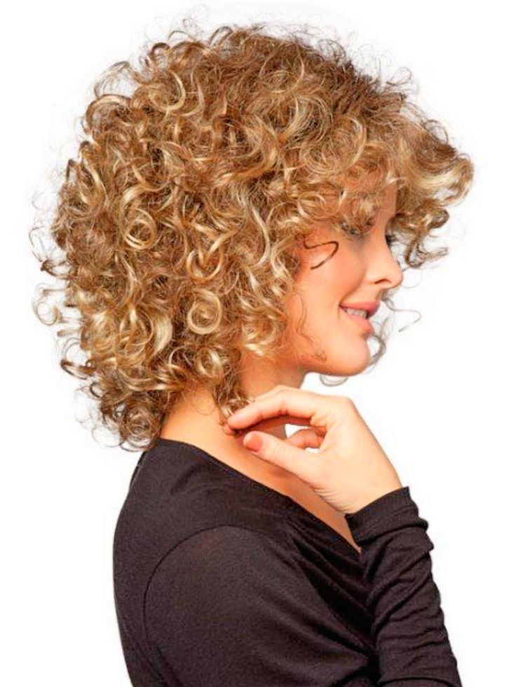 Cute Short Curly Haircuts For Fine Hairs
