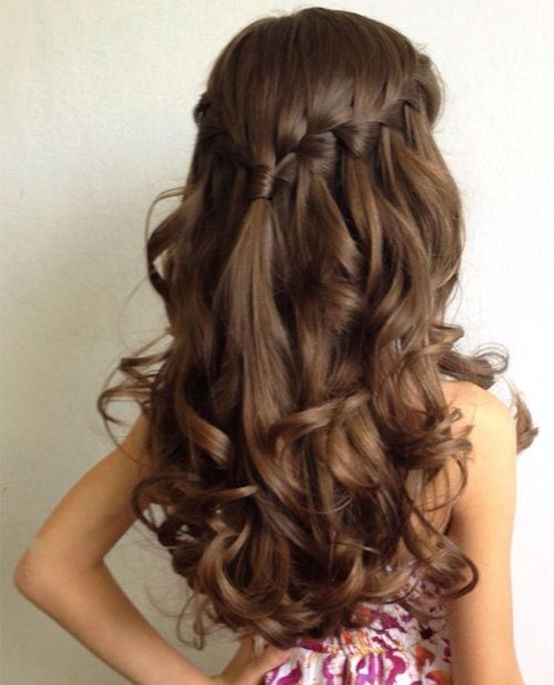 Great Little Girls Long Hairstyles