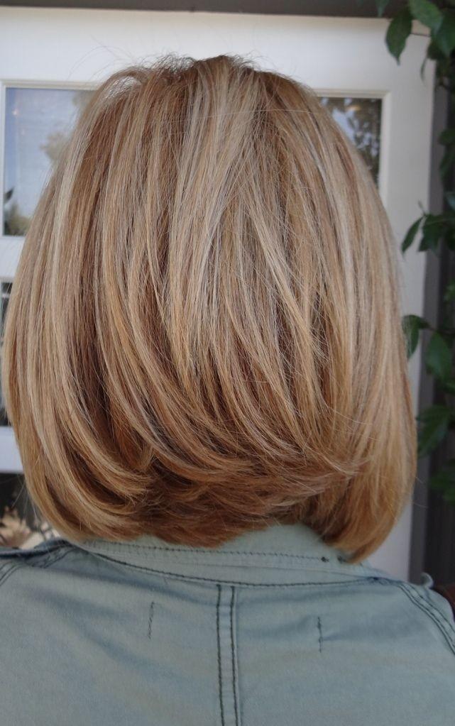Layered Bob Haircut Idea
