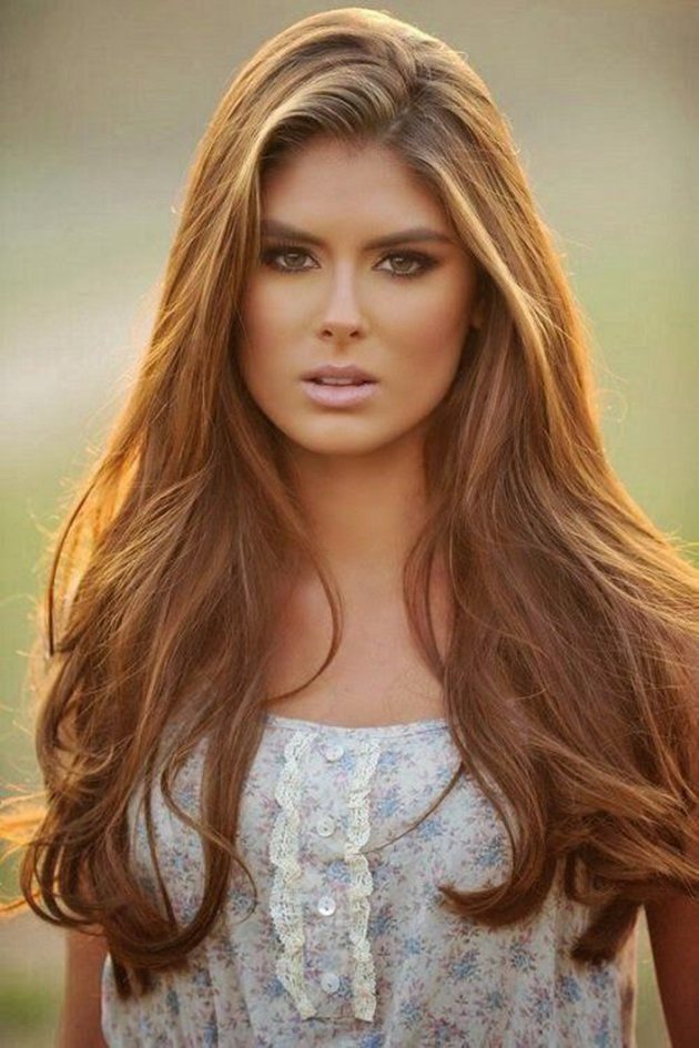 Light Brown Hair With Highlights Idea