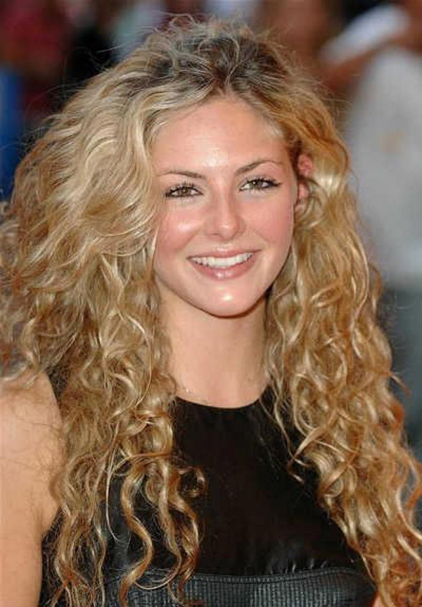 Long Layered Hairstyles For Thick Curly Hair