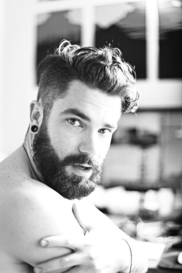 Masculine beard styles for men
