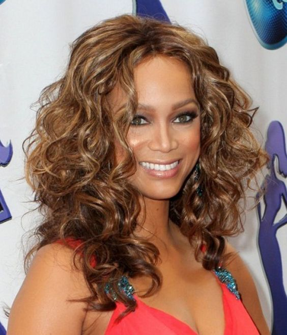 Medium Length Curly Hairstyles for Thick Hair