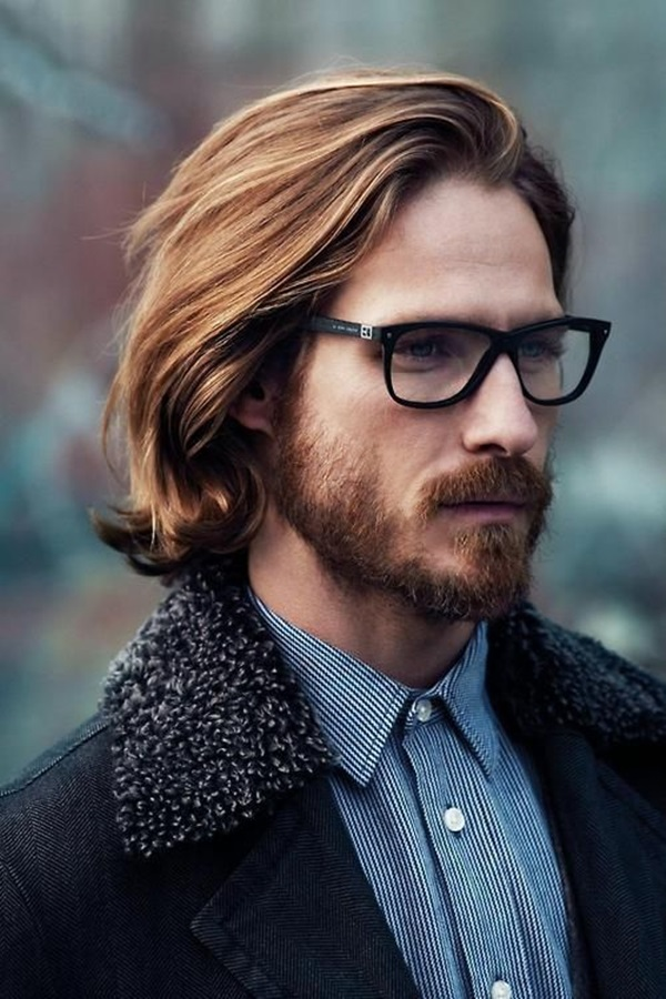 Men's Looks Wearing Glasses