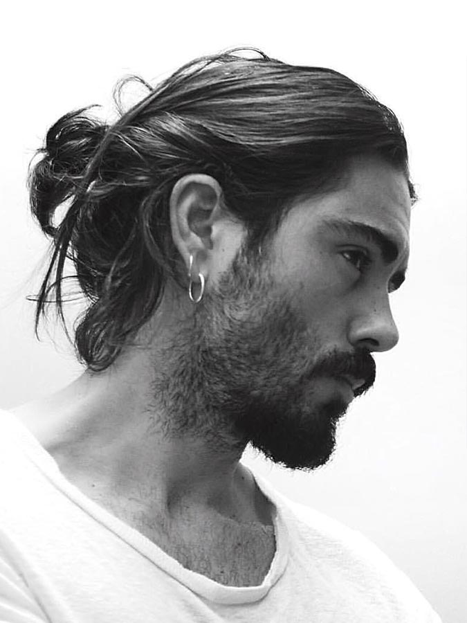17 Different Type Of Bun Hairstyles For Men Feed Inspiration