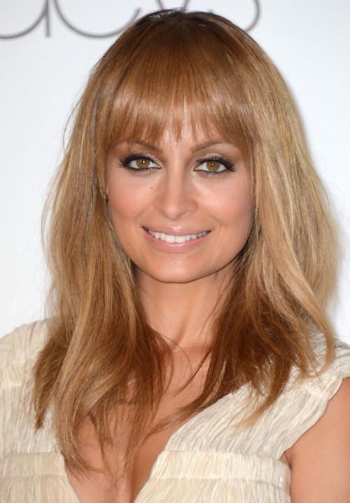 Nicole Richie Long Straight Hairstyle for Fine Hair