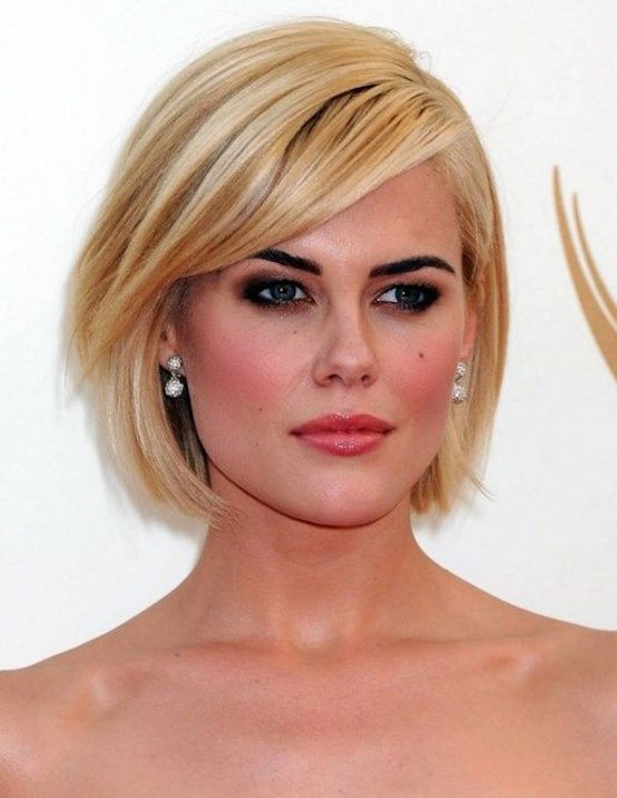 Oval Face Short Hairstyle
