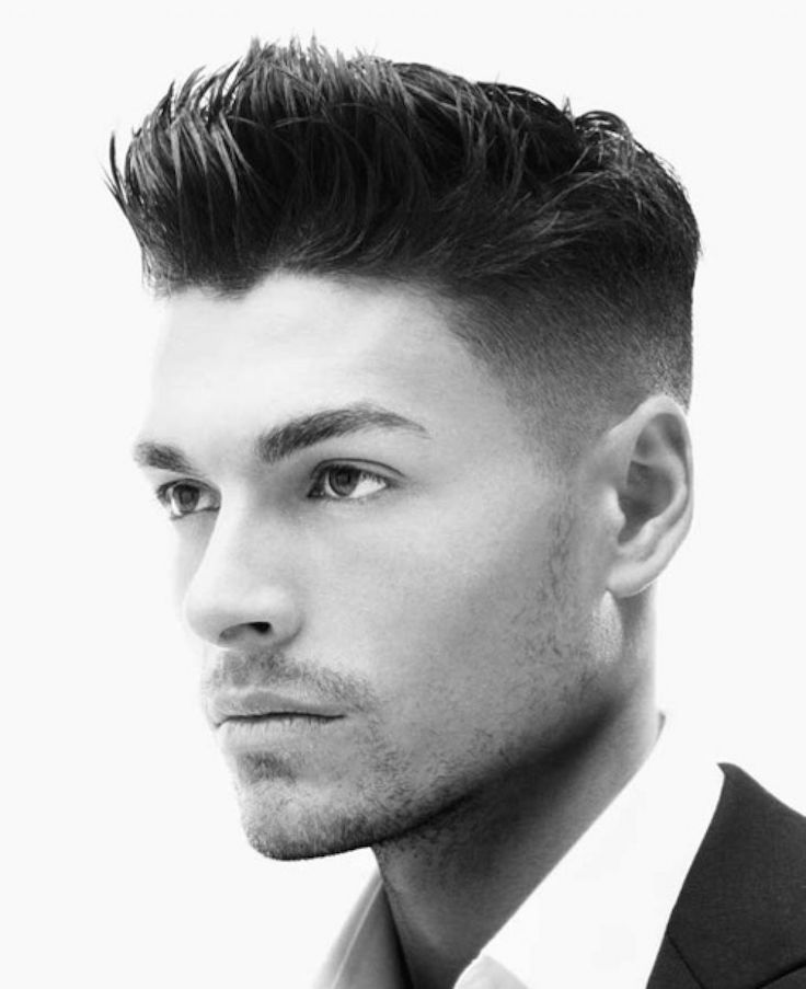 Puffy Undercut Hairstyle for Men