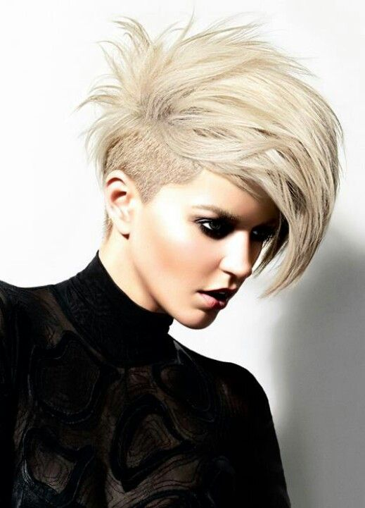 21 Edgy Hairstyles To Improve Your Styles Feed Inspiration