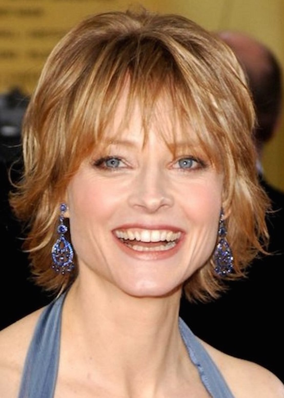 Short Shag Hairstyle for Women Over 50