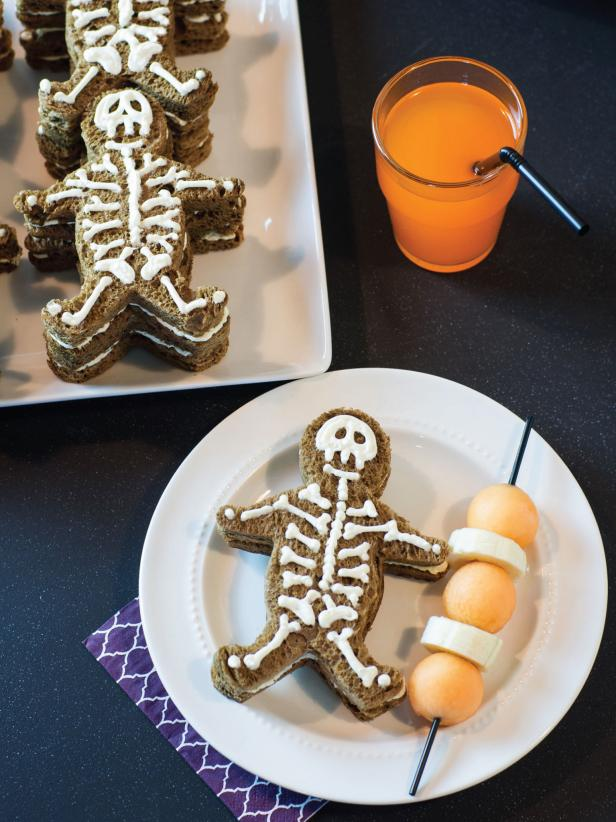 Skeleton Sandwiches
