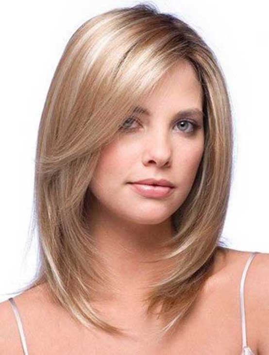 Straight Modern Highlighted Hairstyle