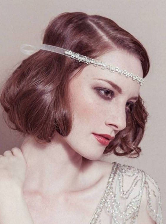 Twenties Flapper Hairstyles