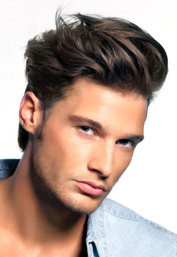 Wavy Comb Over Hairstyle
