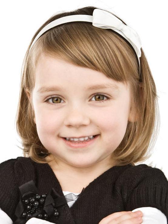 a cute bob haircut for little girls