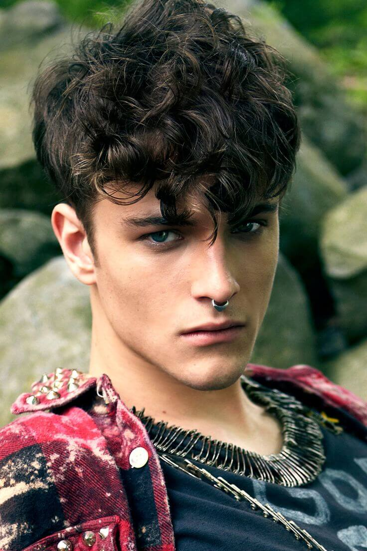 Cute Boy Hairstyles: 20 Cool Curly Hairstyles For Men