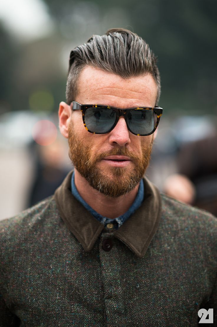 hairstyles for men with beards cool men