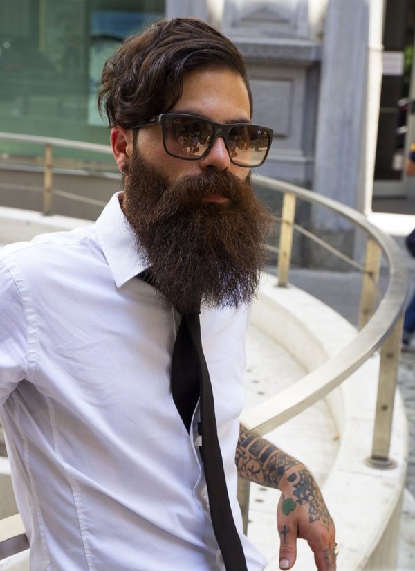 latest beard styles for men