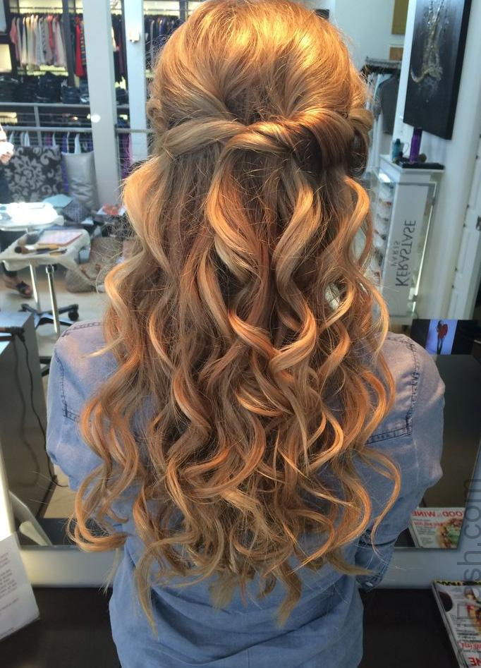 21 Stunning Half Up Half Down Hairstyles To Look Perfect ...