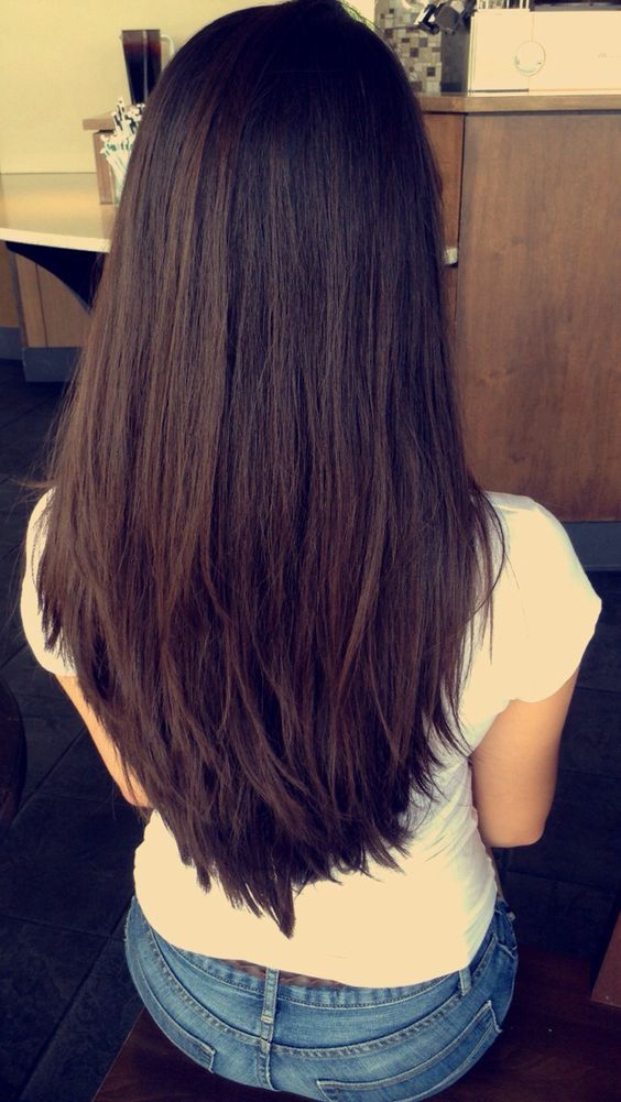 long layers hair
