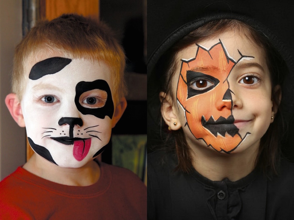 17 Cool Kids Halloween Makeup Ideas
