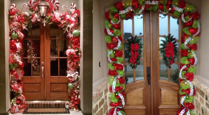 Christmas Garland Decorating Ideas Easy Craft Ideas