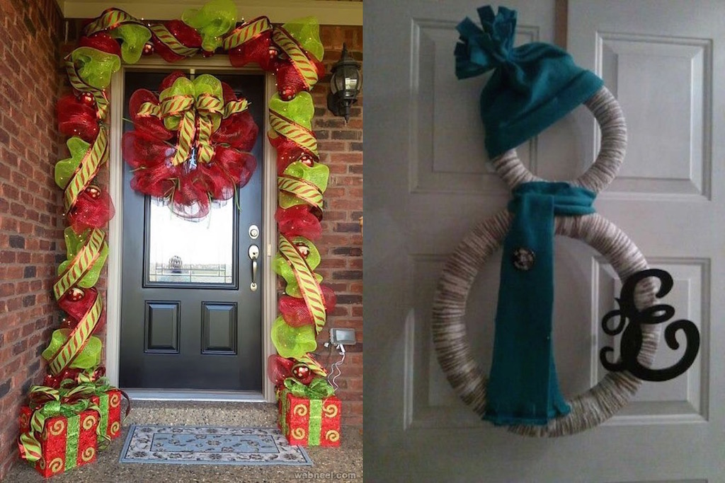 21 Christmas Door Decorations Ideas You Should Try Feed