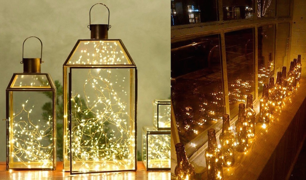 21 Indoor Christmas Lights Decoration Ideas