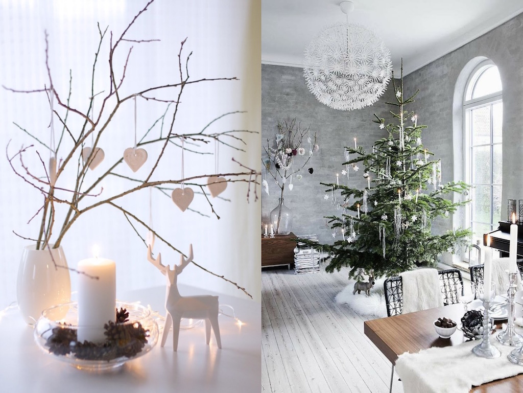 21 modern christmas decor ideas you must try feed for Modern christmas decor