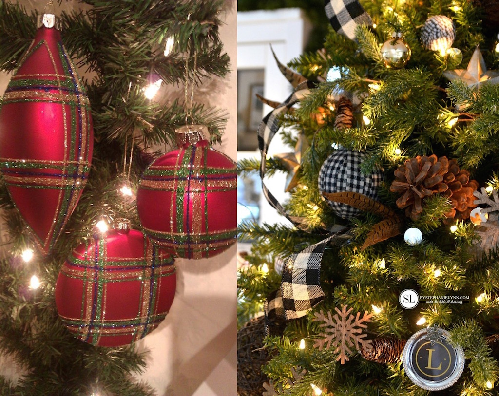 21 Plaid Christmas Ornaments Decorating ideas