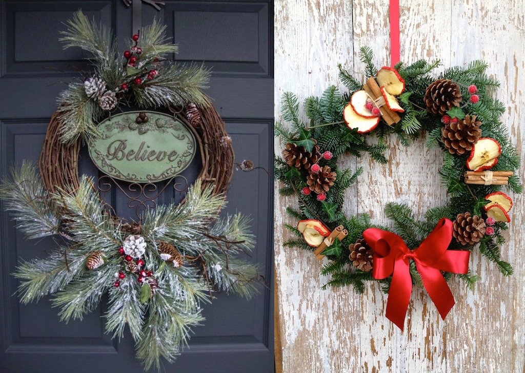 30 christmas wreaths decorating ideas to try now feed Christmas wreath decorations