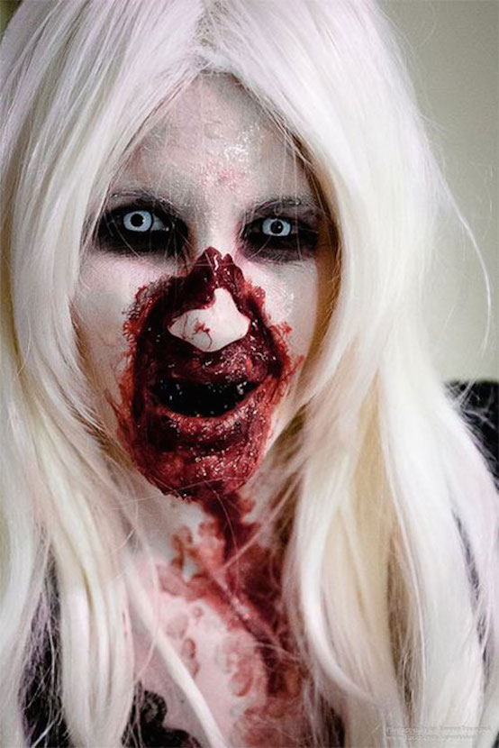 Awesome Halloween Makeup Idea extremely scary Halloween makeup ideas