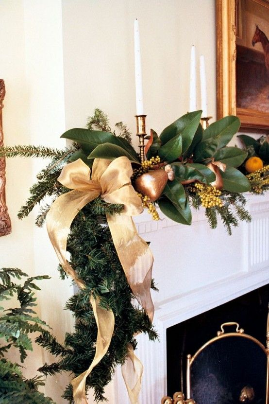Beautiful Magnolia Christmas Decorations Ideas