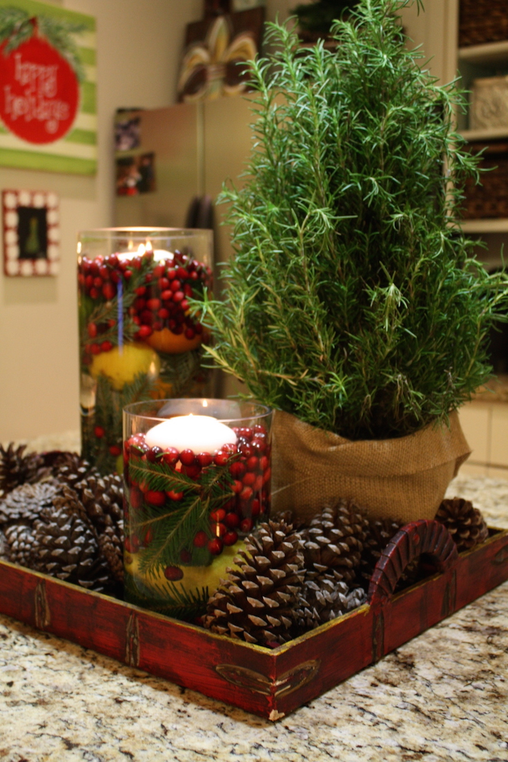 Decorative Ideas For Living Room Small: 20 Impressive Christmas Centerpieces Decorations Ideas