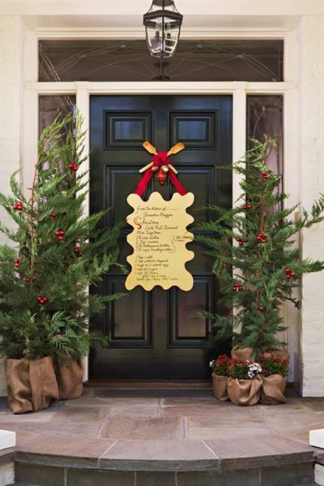 Christmas Entry and Porch Ideas