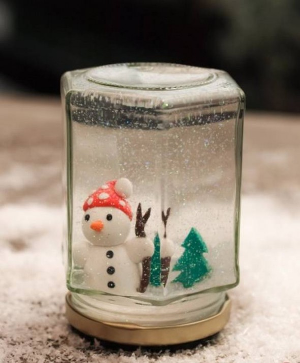 DIY Christmas Snowball Idea For Xmas
