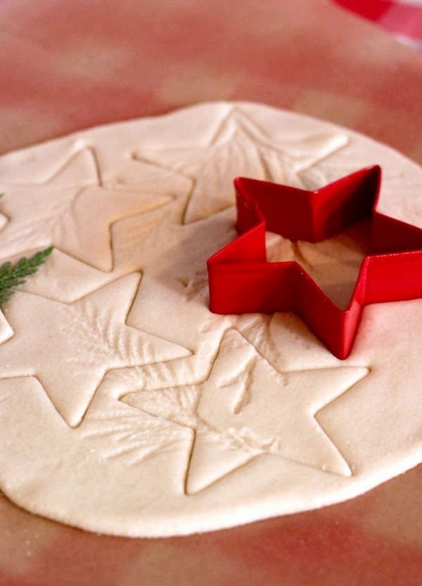 diy homemade christmas decorations easy salt dough recipe