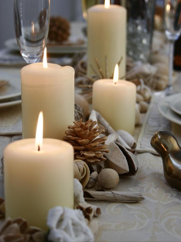 easy christmas centerpiece decor